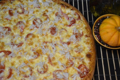 Пицца Крабовая (тонкое тесто)