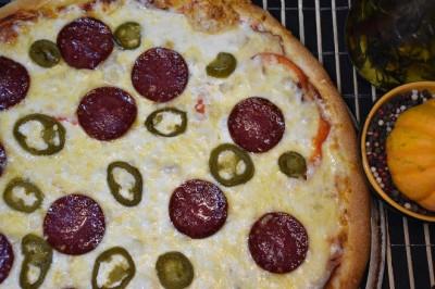 Пицца Мексиканская (пышное тесто)