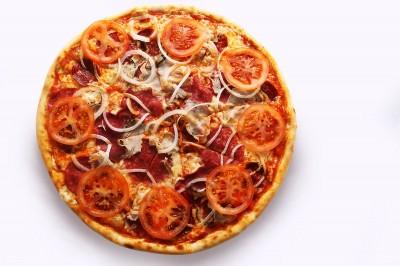 Пицца Мясной пир (пышное тесто)