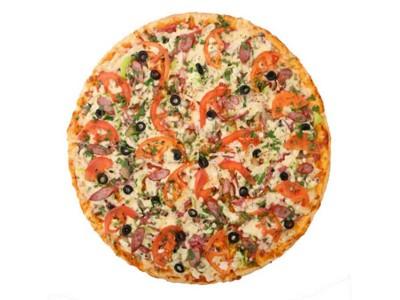 Пицца Пикантная (тонкое тесто)