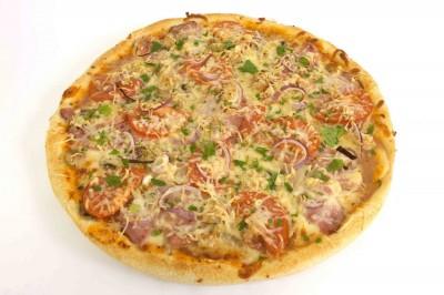 Пицца Столичная (тонкое тесто)