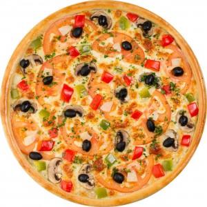Пицца Восточная (пышное тесто)