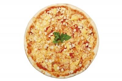 Пицца Гавайская (пышное тесто)