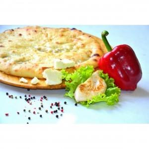 Пирог с курицей, сыром и болгарским перцем 1300 г.