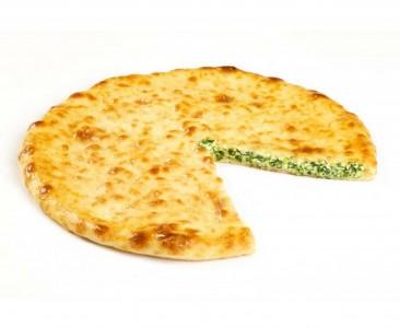Пирог с ветчиной, сыром и зеленью 850г.