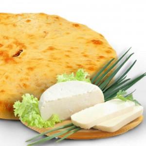 Пирог с сыром и зеленым луком 850г.