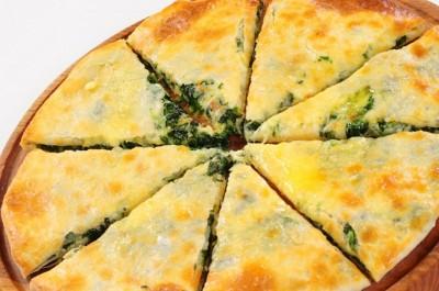 Пирог с творогом и зеленью 850г.