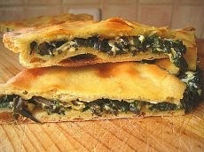 Пирог с папоротником и сыром 1300г.