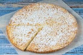 Пирог сладкий с клубникой, творогом и маскарпоне 850г.