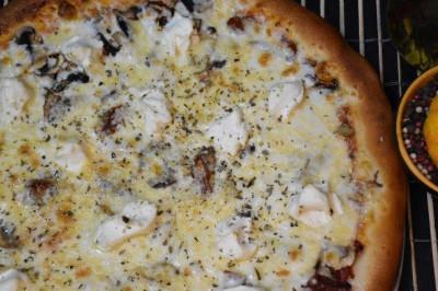 Пицца Грибная  (тонкое тесто)
